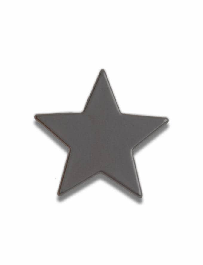 Coach Black Star Souvenir Pin Black Customization For Her Customization SKUs
