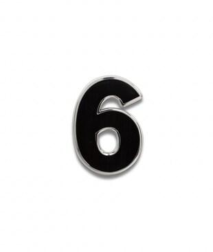 Number 6 Souvenir Pin