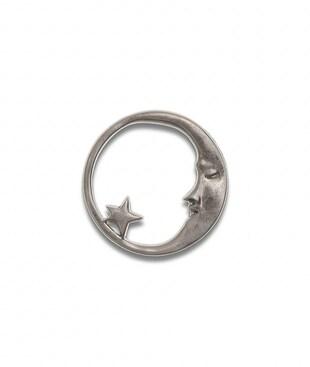 Moon And Star Souvenir Pin