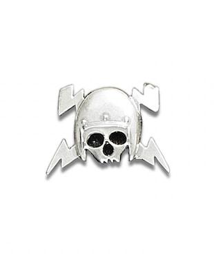 Skull Helm Souvenir Pin