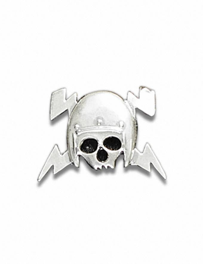 Coach Skull Helm Souvenir Pin Silver Customization For Her Customization SKUs