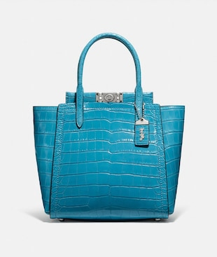TROUPE TOTE IN ALLIGATOR