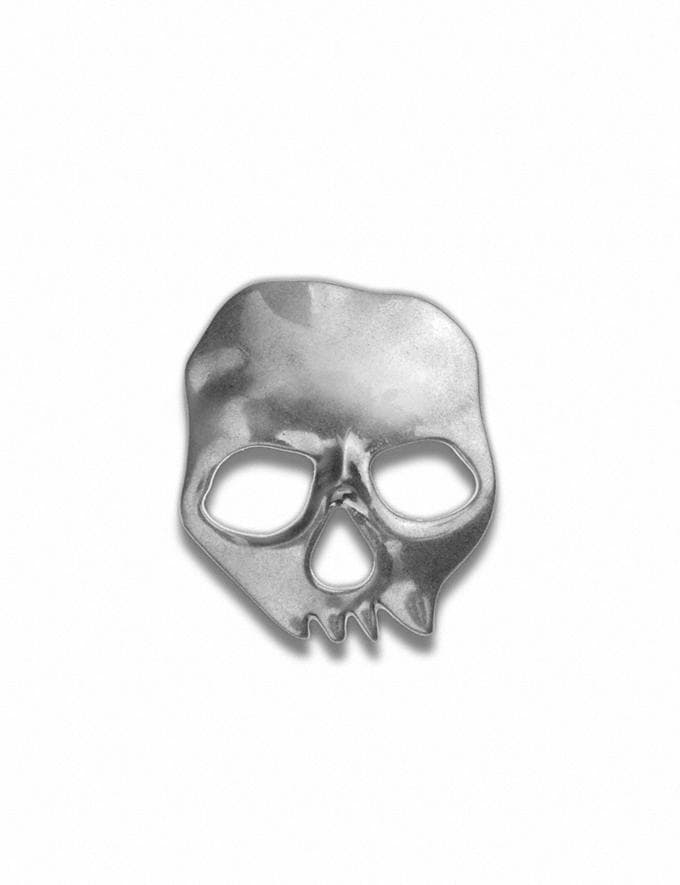 Coach Skull Souvenir Pin Silver Customization For Her Customization SKUs
