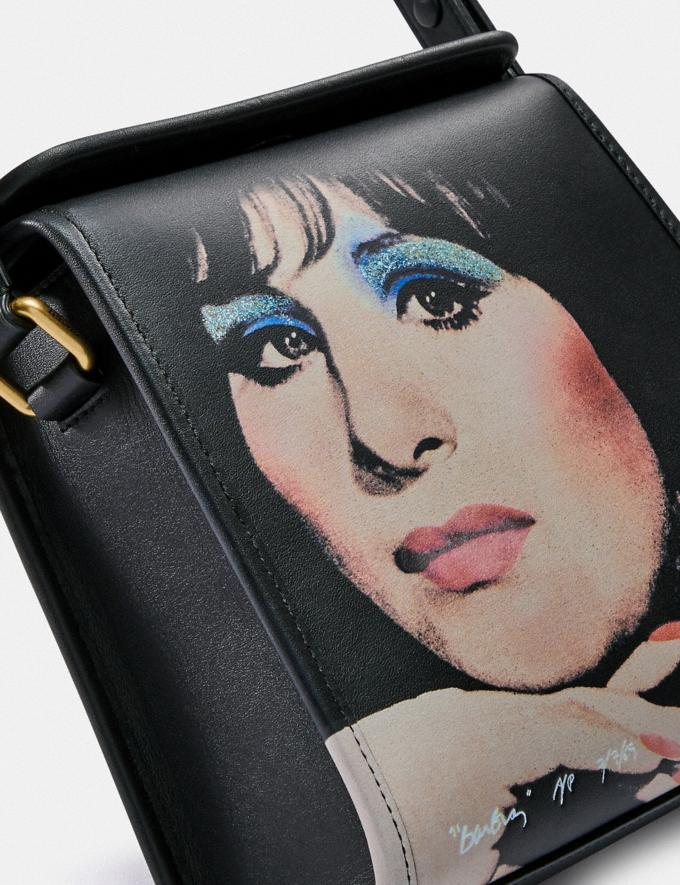 Coach Coach X Richard Bernstein Turnlock Shoulder Bag With Barbra Streisand B4/Black Multi New Featured 30% off (and more) Alternate View 4