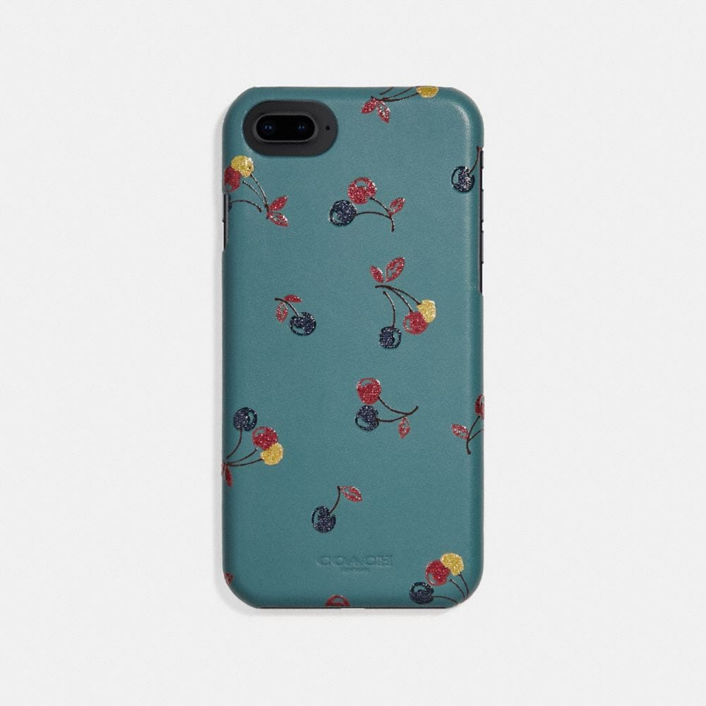 Coach iPhone 7/X Case With Cherry Print