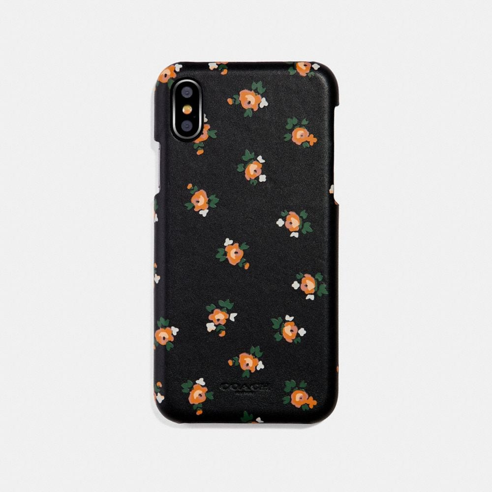 Coach iPhone 6s/7/8/X/Xs Case With Floral Bloom Print Alternate View 1