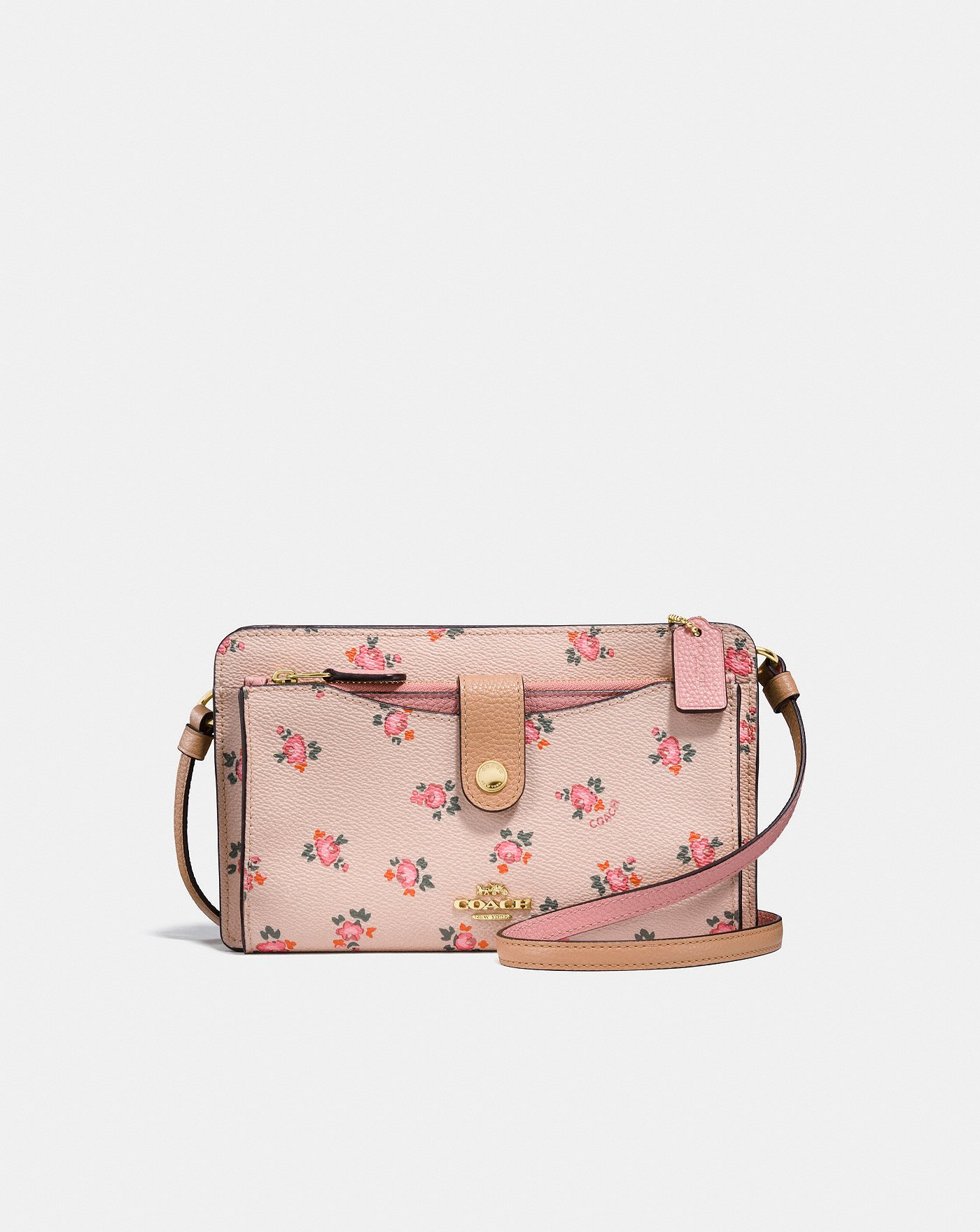 2a8ad9e042d8 Pop-Up Messenger With Floral Bloom Print