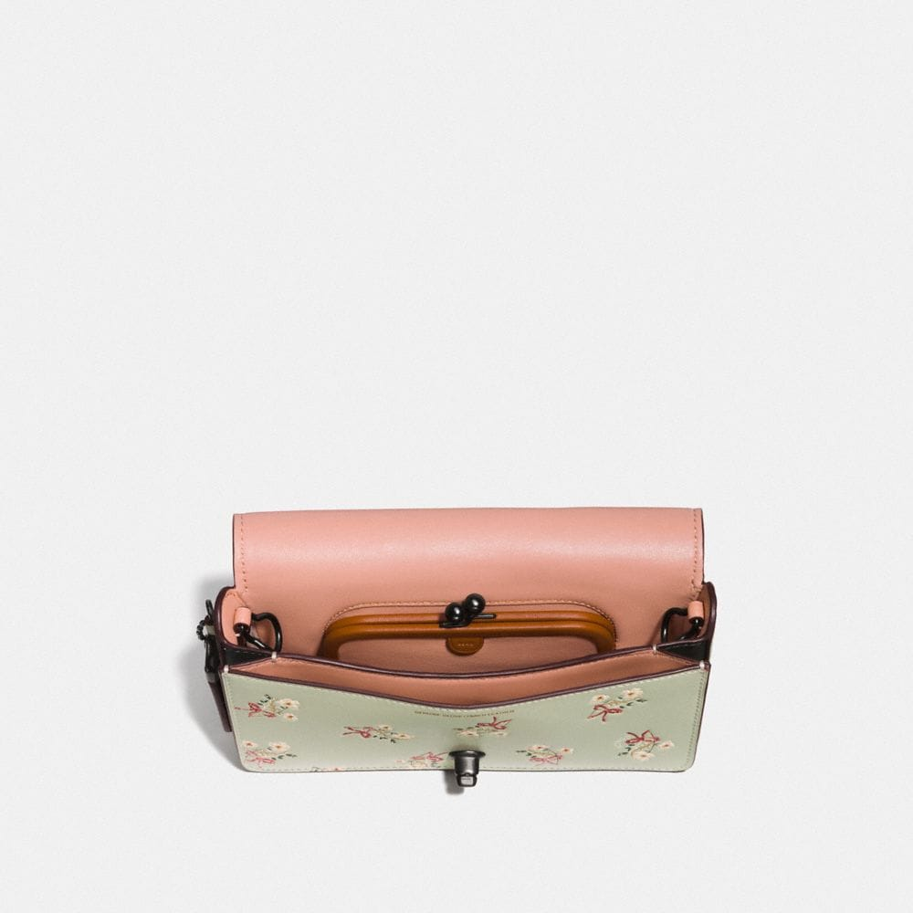 Coach Dinky With Floral Bow Print Alternate View 2