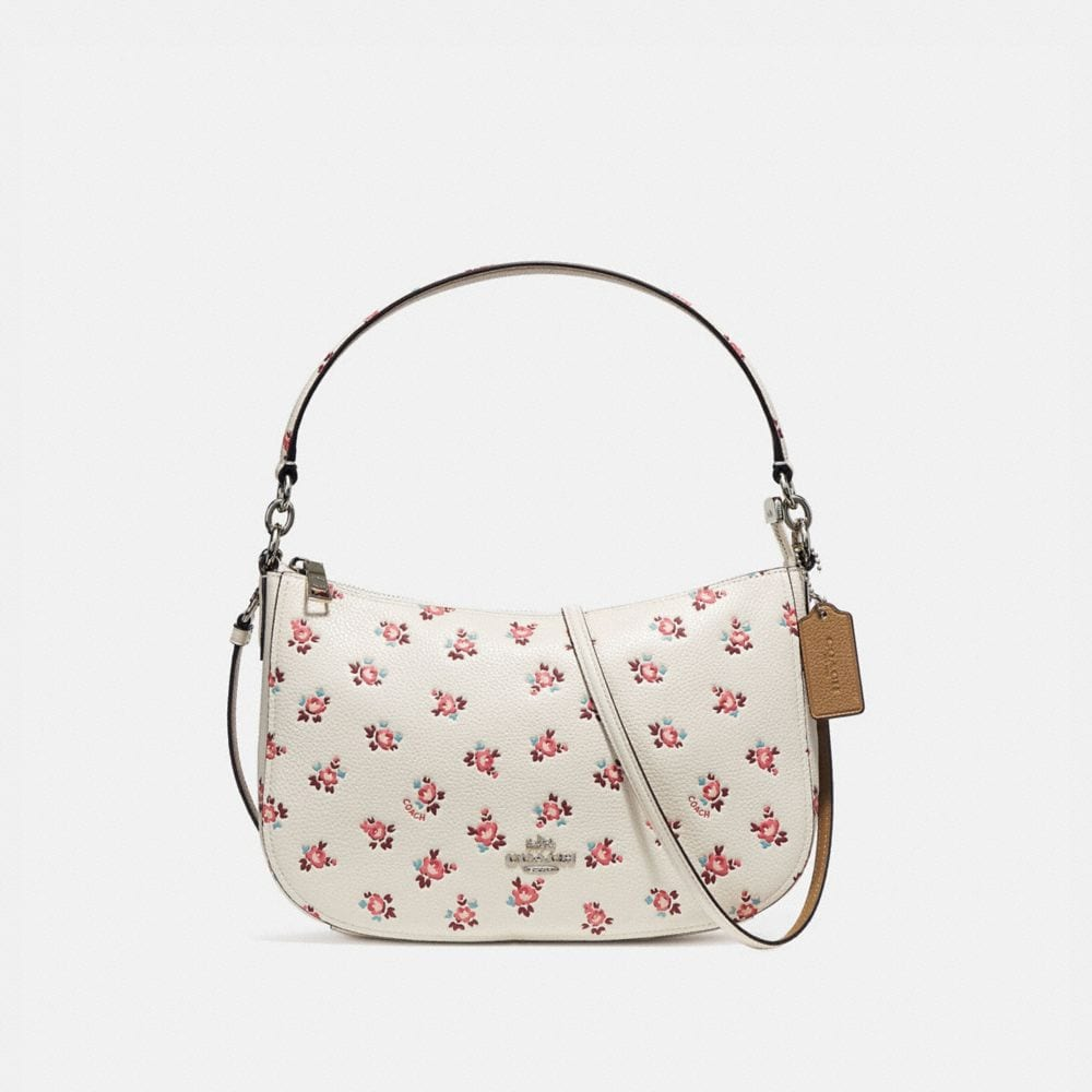 CHELSEA CROSSBODY WITH FLORAL BLOOM PRINT