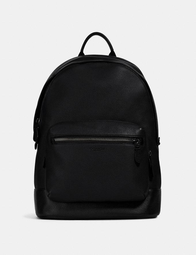 Coach West Backpack Qb/Black DEFAULT_CATEGORY