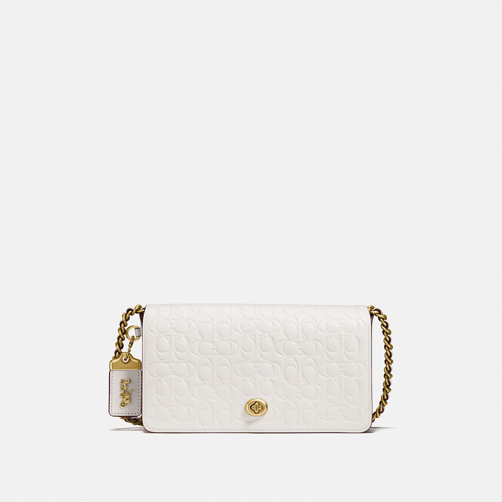 0abe550830 ... Coach - dinky in signature leather - 1 ...