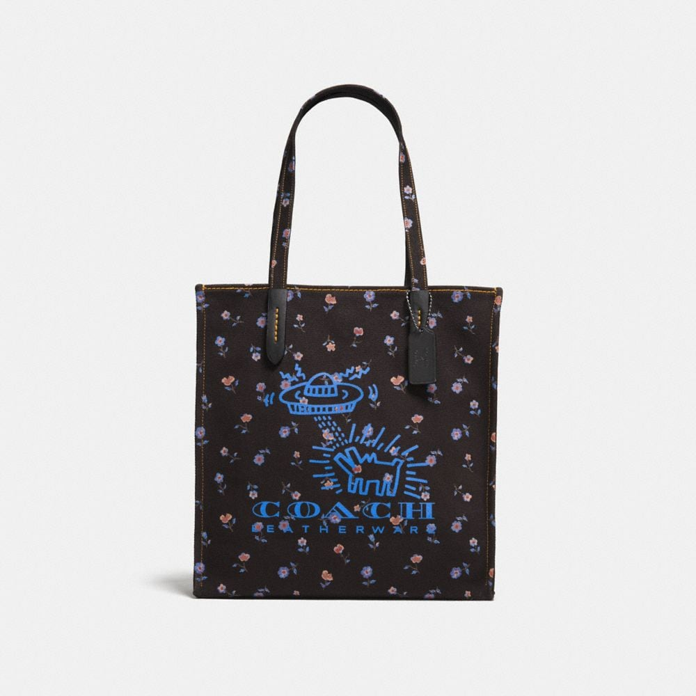 BORSA LARGA COACH X KEITH HARING