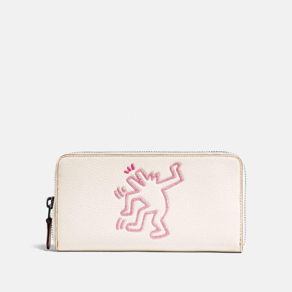 Coach Coach X Keith Haring Accordion Zip Wallet