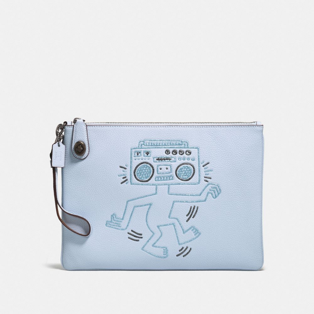 Coach Coach X Keith Haring Turnlock Wristlet 30