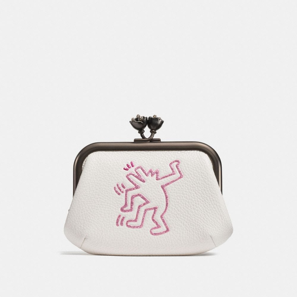 COACH X KEITH HARING FRAME POUCH