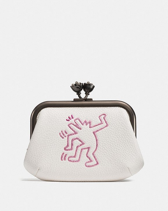COACH: Coach X Keith Haring Frame Pouch