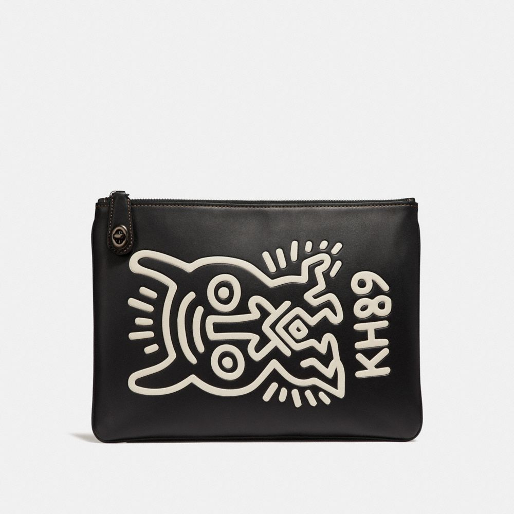 Coach Coach X Keith Haring Turnlock Pouch
