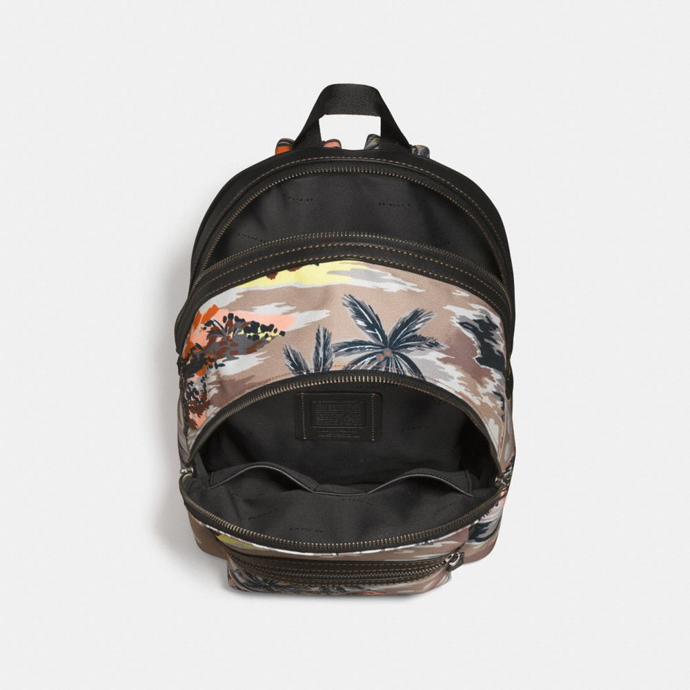 Coach Coach X Keith Haring Academy Backpack in Cordura® Fabric Alternate View 2