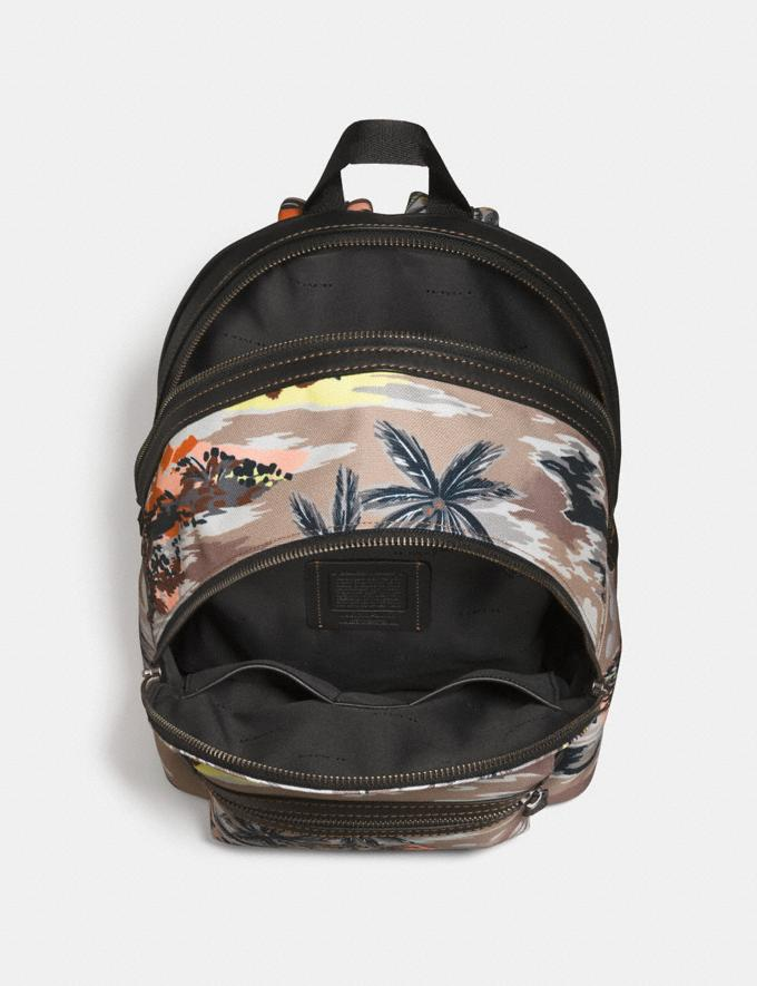 Coach Coach X Keith Haring Academy Backpack Black Copper/Hawaiian Brown DEFAULT_CATEGORY Alternate View 2