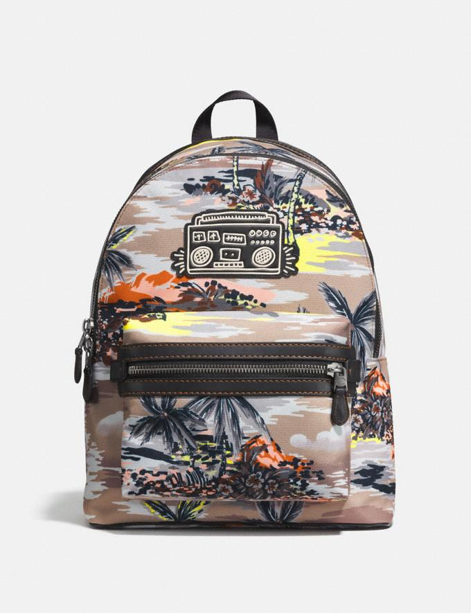 Coach Coach X Keith Haring Academy Backpack Black Copper/Hawaiian Brown DEFAULT_CATEGORY