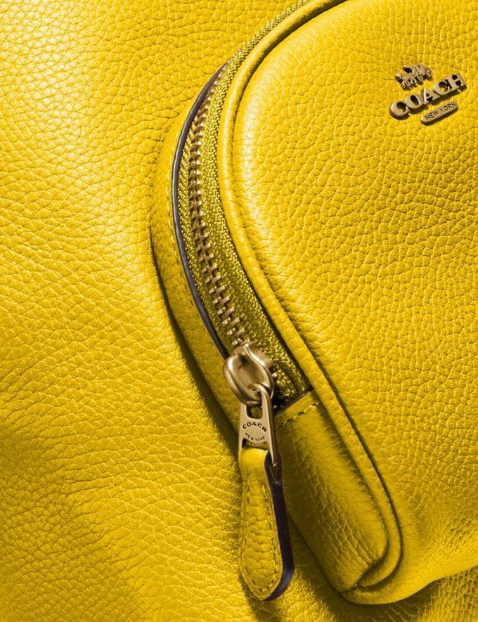 Coach Carrie Backpack 23 Brass/Lemon New Featured Coach Pride Collection Alternate View 5