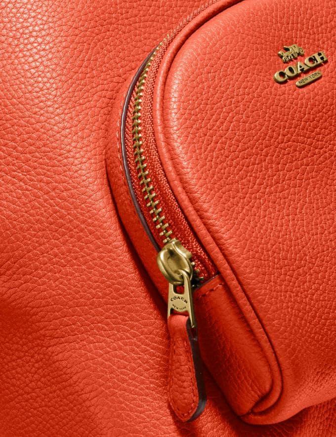 Coach Carrie Backpack 23 Brass/Mango Women Handbags Backpacks Alternate View 4