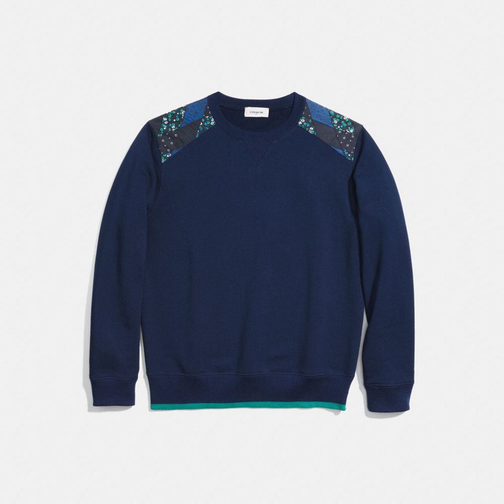 Coach Patchwork Sweatshirt
