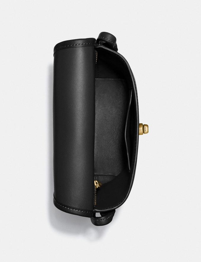 Coach Turnlock Pouch Brass/Black Gifts For Her Alternate View 2