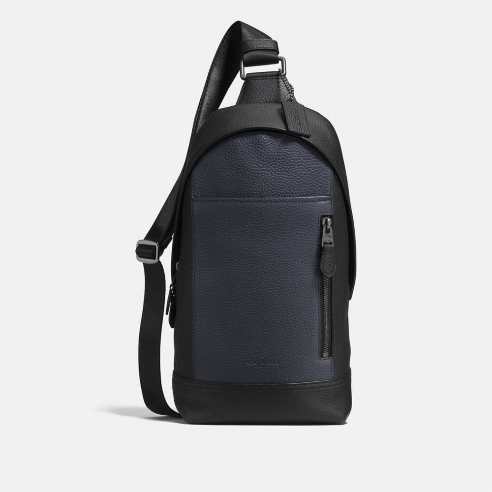 manhattan sling pack in colorblock