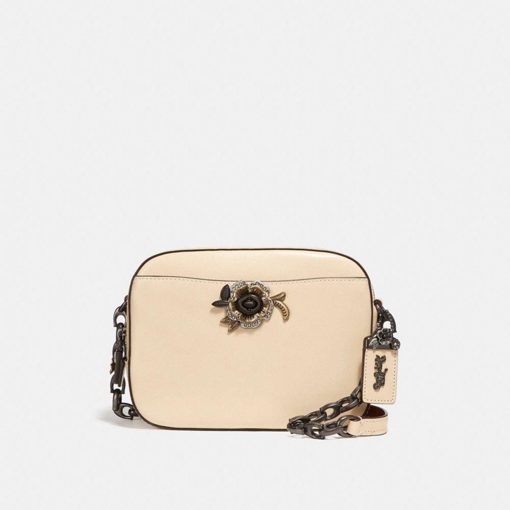COACH Camera Bag With Tea Rose