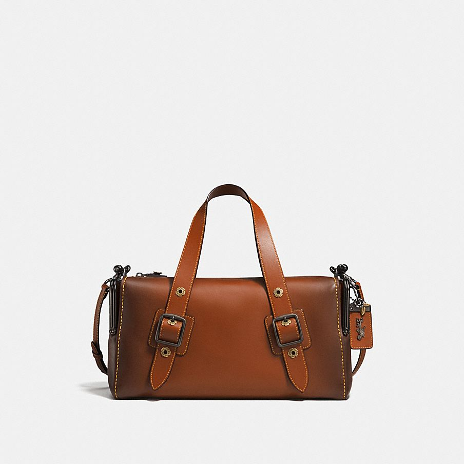 The Mailbox Bag 35 Is A Re Edition Of 1970s Archival Silhouette Crafted In Coach Glovetanned Leather And Detailed With Two Signature Kisslock Pockets