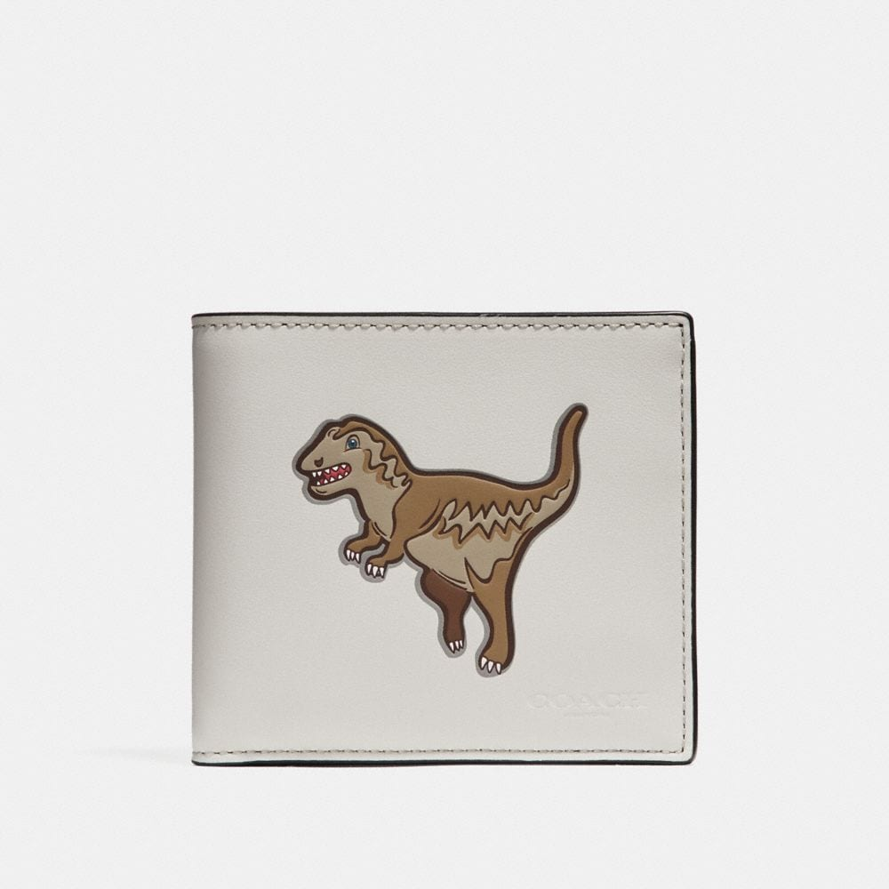 Coach Double Billfold Wallet With Mascot