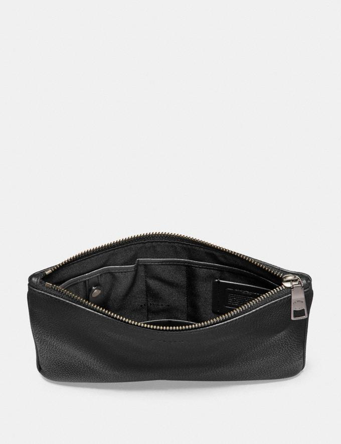 Coach Multifunctional Pouch Black SALE Ready, Set, Holiday Event Men's Alternate View 1