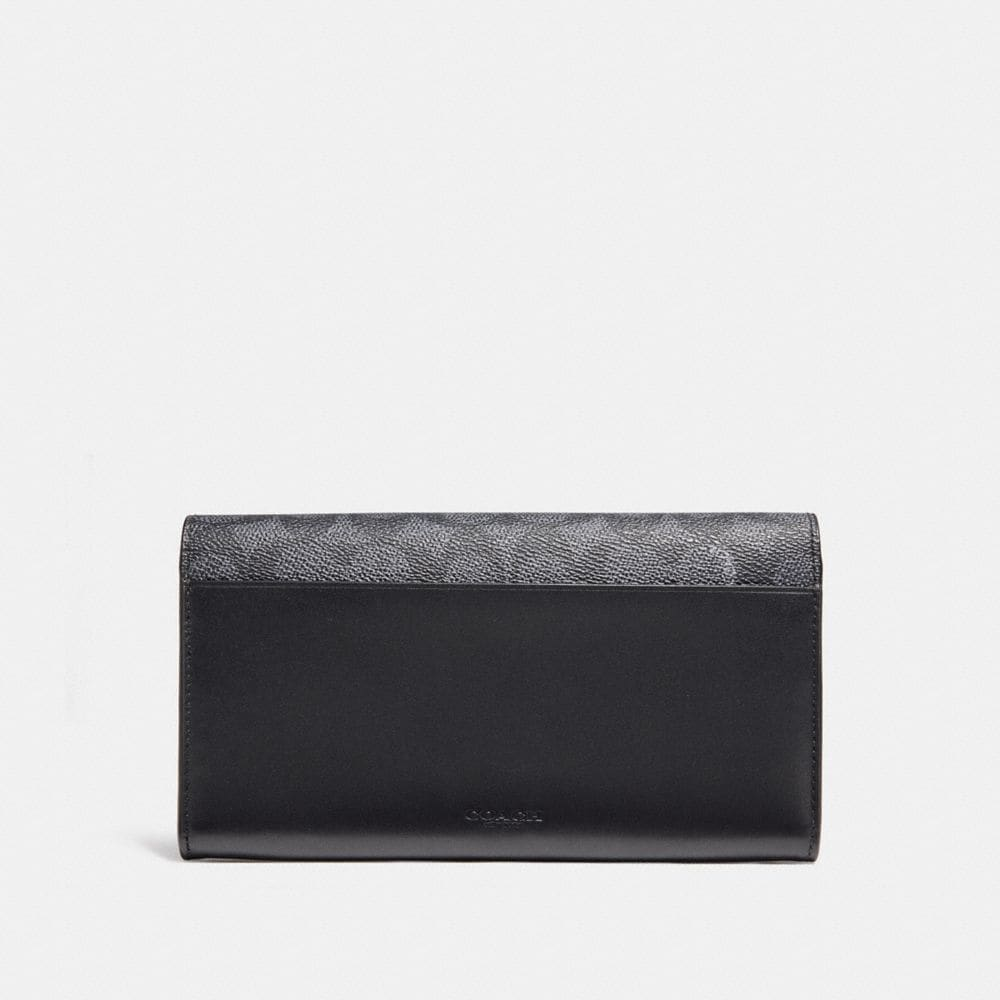Coach Multifunctional Wallet in Signature Canvas Alternate View 2
