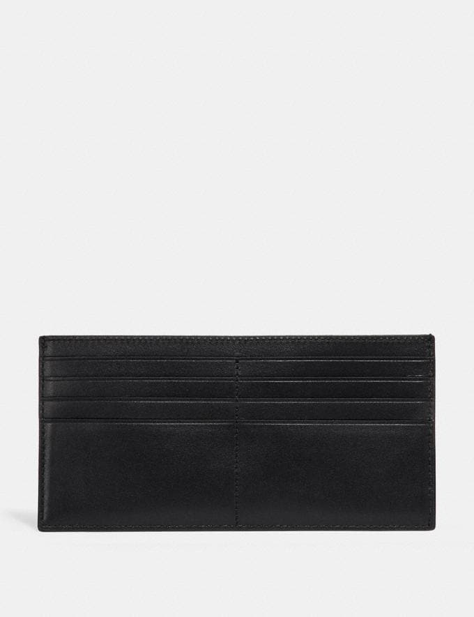 Coach Multifunctional Wallet in Signature Canvas Charcoal  Alternate View 5