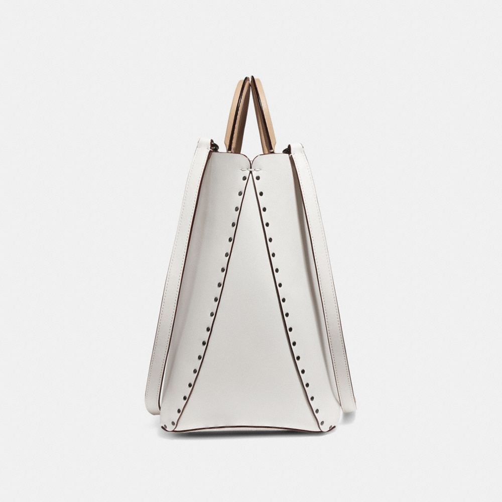 Coach Rogue Tote With Rivets Alternate View 1