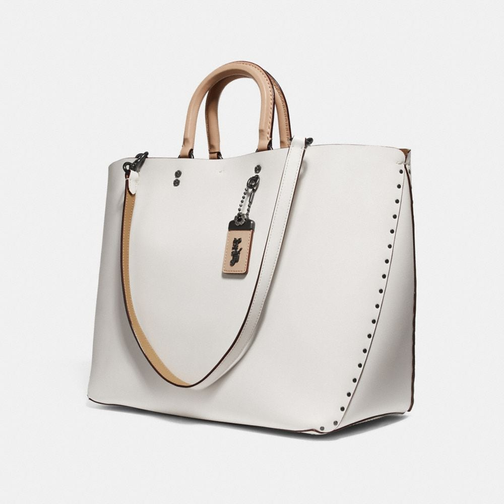 Coach Rogue Tote With Rivets Alternate View 2