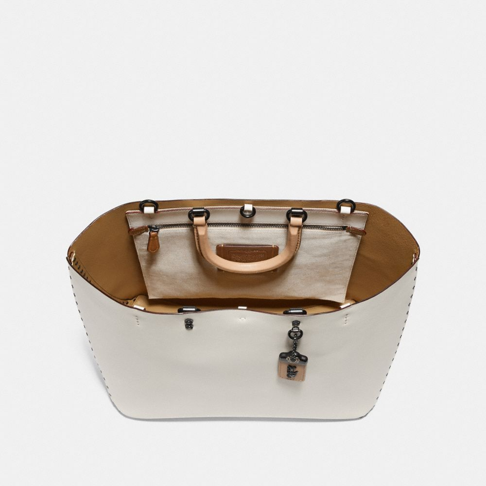 Coach Rogue Tote With Rivets Alternate View 3