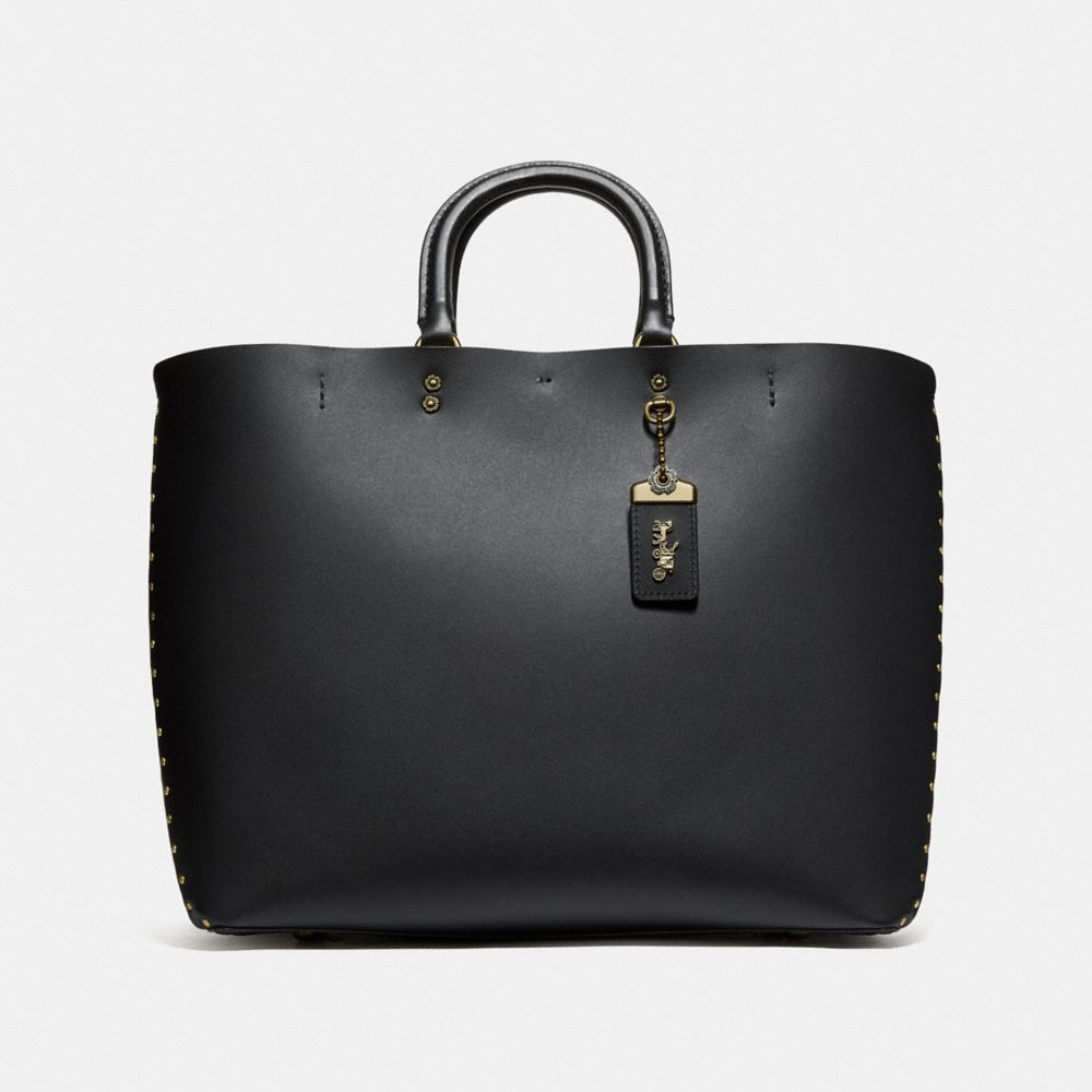 ROGUE TOTE WITH RIVETS