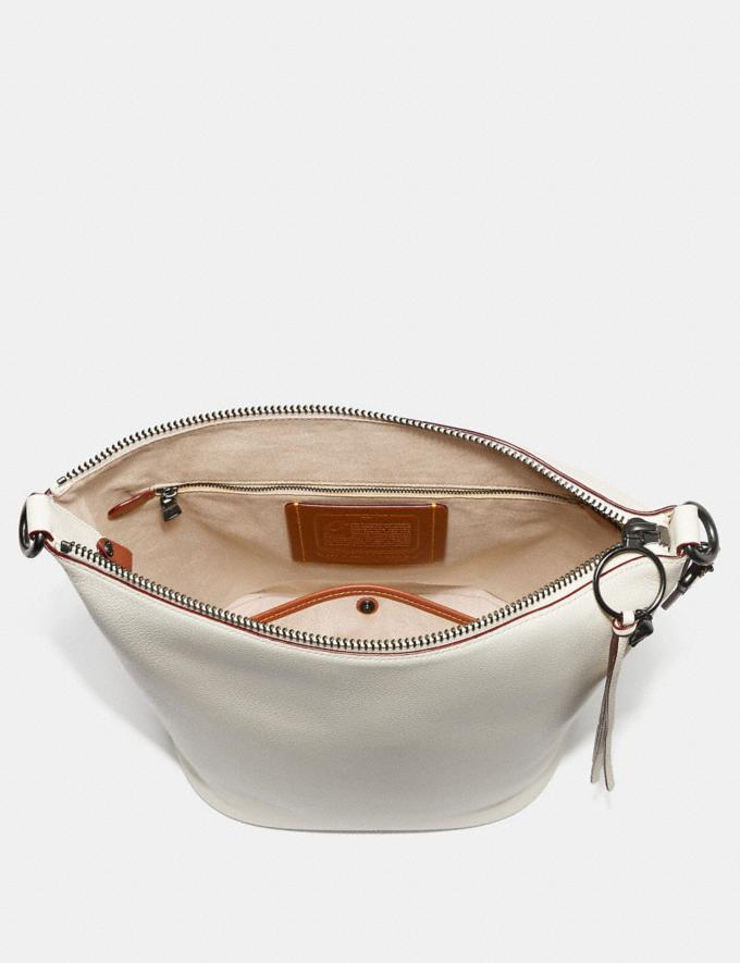 Coach Duffle With Rivets Heather Grey/Black Copper SALE Women's Sale New to Sale New to Sale Alternate View 2