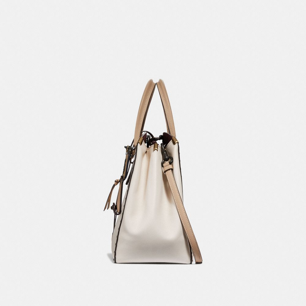Coach Cooper Carryall in Colorblock With Border Rivets Alternate View 1