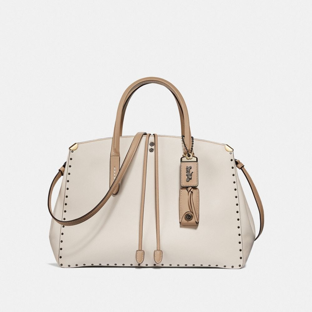 Cooper Carryall In Colorblock With Border Rivets by Coach