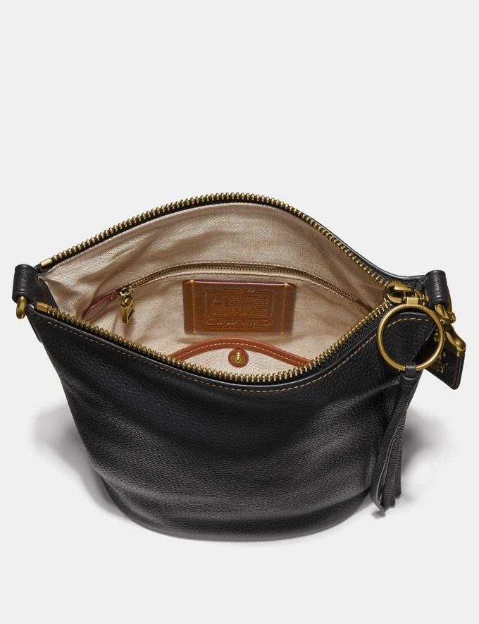 Coach Duffle Black/Brass Women Bags Crossbody Bags Alternate View 2