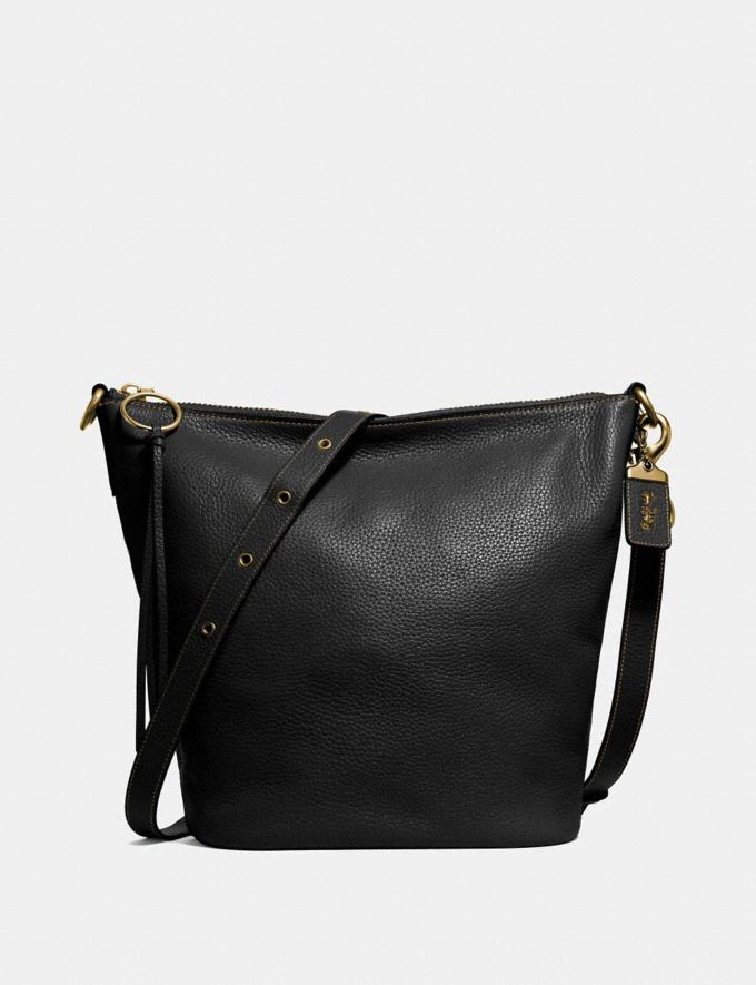 Coach Duffle Black/Brass Women Handbags Crossbody Bags