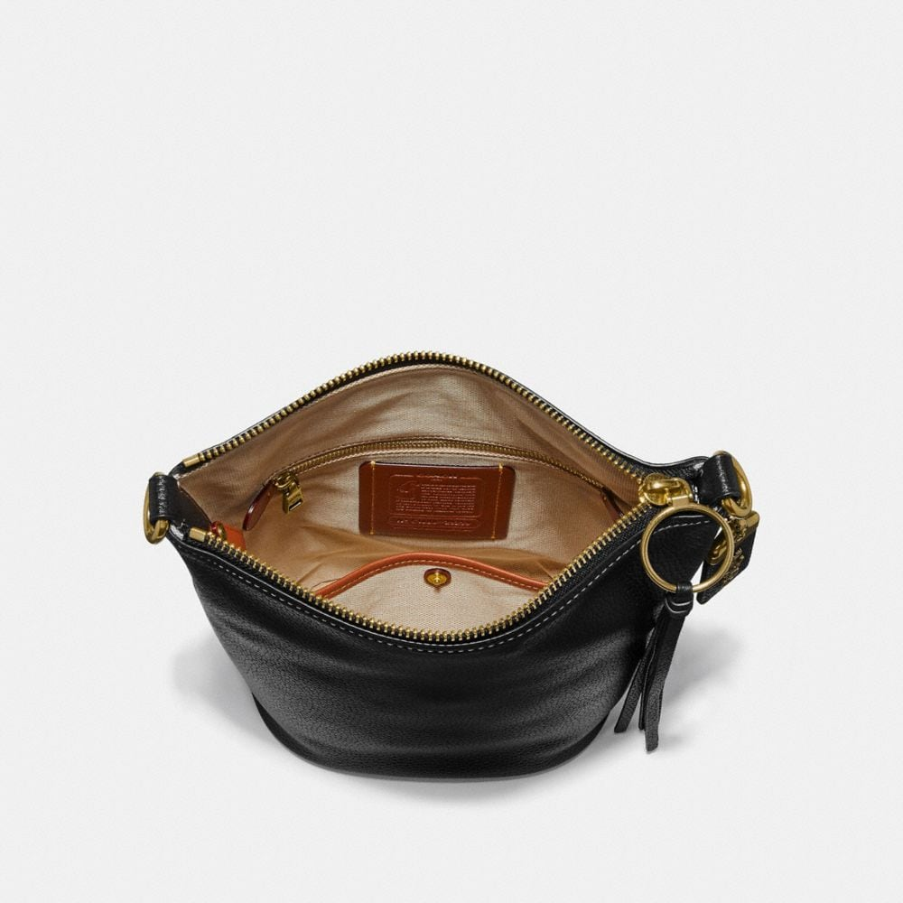Coach Duffle 20 in Natural Pebble Leather Alternate View 2