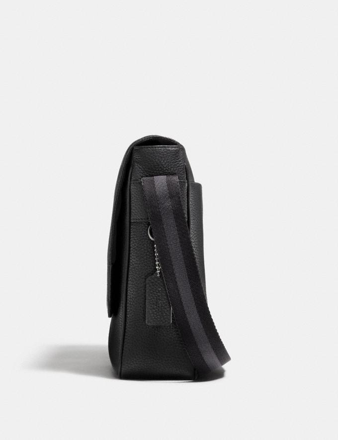 Coach Metropolitan Map Bag Black/Black Antique Nickel SALE Men's Sale Alternate View 1