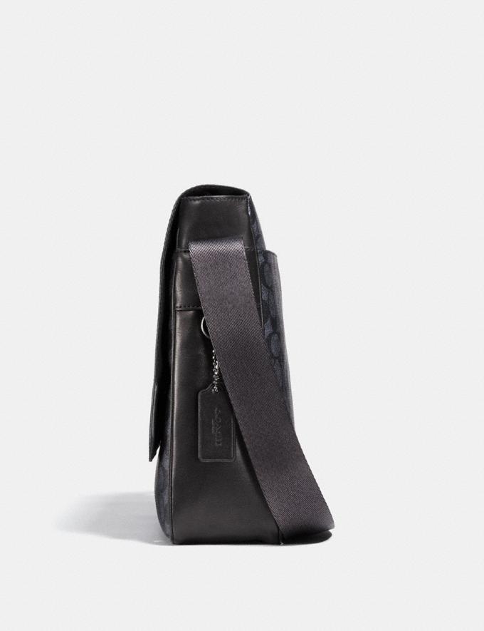 Coach Metropolitan Map Bag Charcoal/Black Antique Nickel CYBER MONDAY SALE Men's Sale Bags Alternate View 1