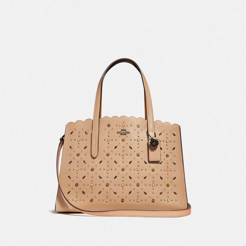 CHARLIE CARRYALL WITH PRAIRIE RIVETS