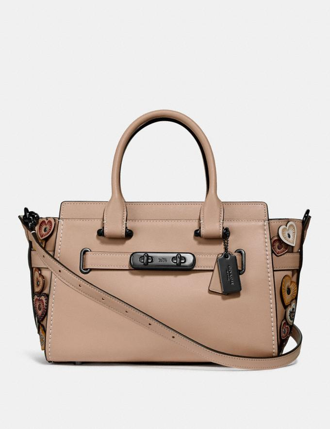 Coach Coach Swagger 27 With Hearts Dk/Beechwood Multi DEFAULT_CATEGORY