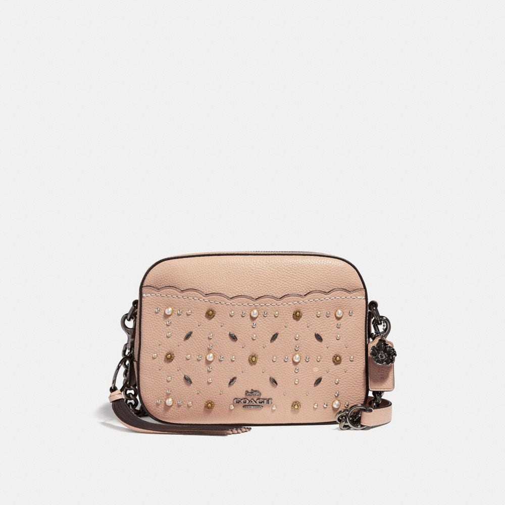 Coach Camera Bag With Prairie Rivets